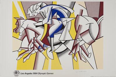 Roy Lichtenstein, '1984 Olympic Games, Los Angeles', 1984