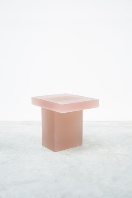 Wonmin Park, 'Haze Stool (Orange and Yellow)', 2015