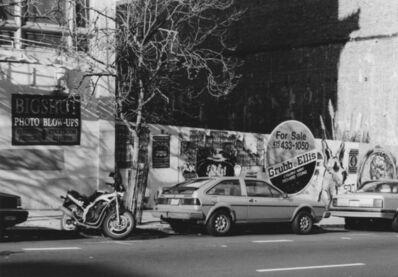 Arabella Colton, 'Wall Dog — Big Shot Photo Blow-ups, Bush St., San Francisco 1992', 1992