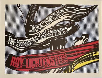 Roy Lichtenstein, 'Roy Lichtenstein-Pasadena Art Museum Poster', 1967