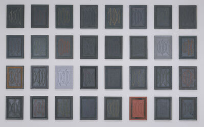 Kay WalkingStick, 'Chief Joseph series', 1974-1976