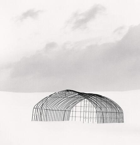 Michael Kenna, 'Greenhouse Structure, Study 1, Rubeshibe, Hokkaido, Japan', 2004