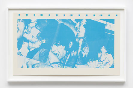Andy Warhol, 'Color proof for The Rolling Stones album Love You Live', 1977