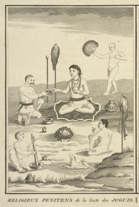 Bernard Picart, 'Penitents from a Sect of Yogis', 1723-1743