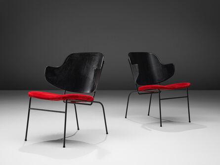 Ib Kofod-Larsen, 'Set of 2 'Penguin' Lounge Chairs,', 1953