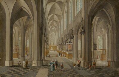 Peeter Neeffs the Elder, 'Antwerp Cathedral', ca. 1650/1655