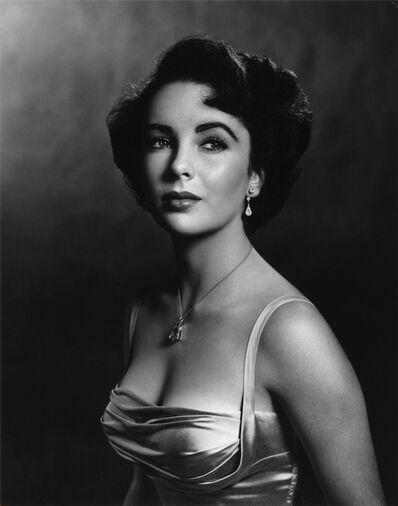 Philippe Halsman, 'Elizabeth Taylor ', 1948