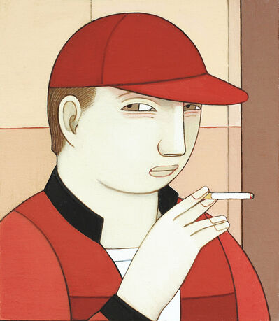 Andrew Stevovich, 'Young Man Smoking', 2016