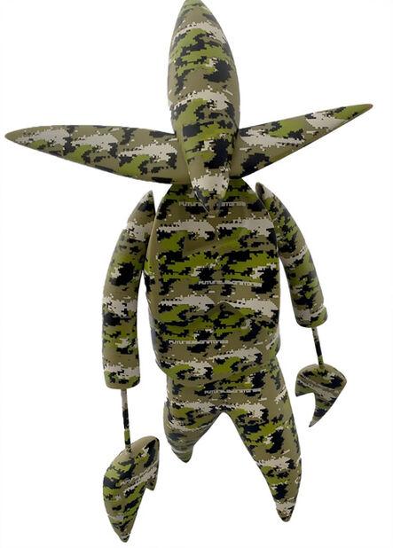 Futura, 'Futura Nosferatu Figure (Futura x 360 Toy Group )', 2005