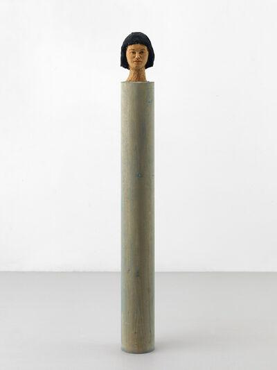 Stephan Balkenhol, 'Kleine Kopfsäule', 1991
