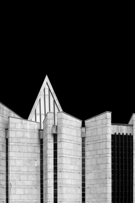 Egle Kisieliute, 'Concrete Evidence 3 (Mortonhall Crematorium 1967, Edinburgh)', 2018