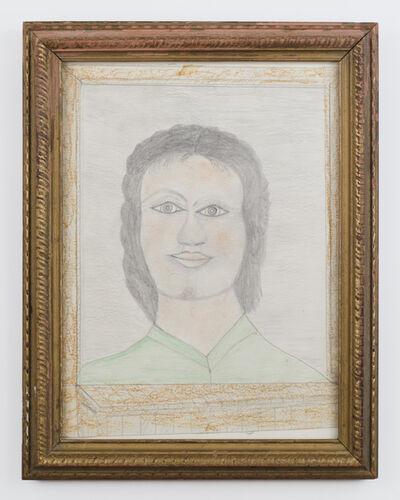 S.L. Jones, 'Woman's Head', ca. 1980