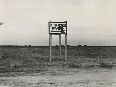 Dorothea Lange, 'Along Highway 99 San Joaquin Valley, CA', 1936