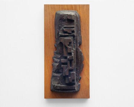 Eduardo Paolozzi, 'For Victor Hugo', 1975/89