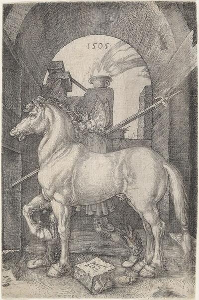 Albrecht Dürer, 'The Small Horse', 1505