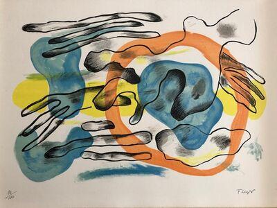 Fernand Léger, 'Les nuages', 1959