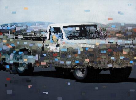 Chris Kienke, 'White Truck', 2014