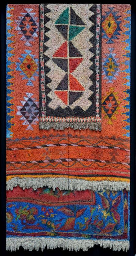 Aldo Mondino, 'Hanging Carpets (Tappeti Stesi)', 1990