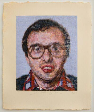 Chuck Close, 'Mark', 2012