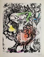 Marc Chagall, 'Pirouette au Cirque', 1961