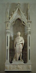 Donatello, 'St. George Tabernacle', ca. 1415-17