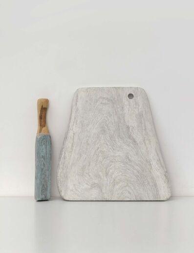 Hu Xiaoyuan 胡晓媛, 'Wood Cutting Board and Wood Pestle No. 1', 2019