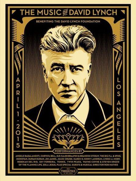 Shepard Fairey, 'David Lynch', 2015