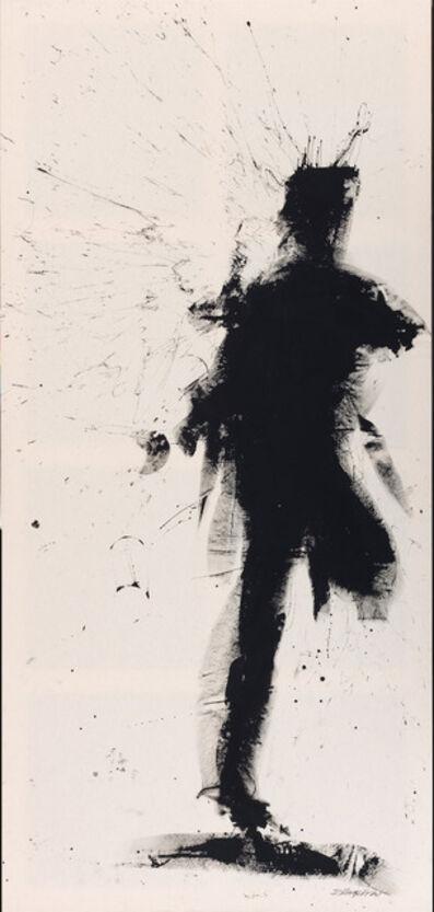 Richard Hambleton, 'Standing Shadow - Run', 2018