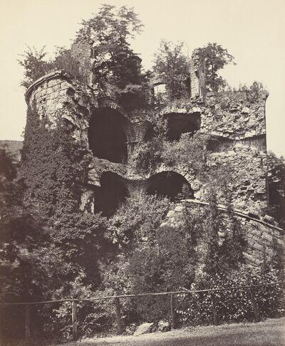 Adolphe Braun, 'The Exploded Tower, Heidelberg Castle', ca. 1865