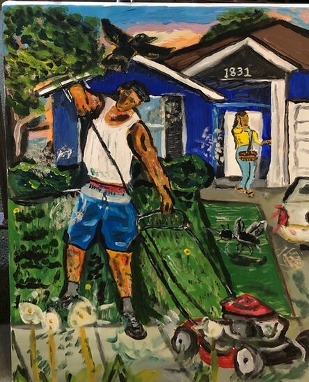 Brandon Thompson, ''Bout To Get These J's Somehow', 2018