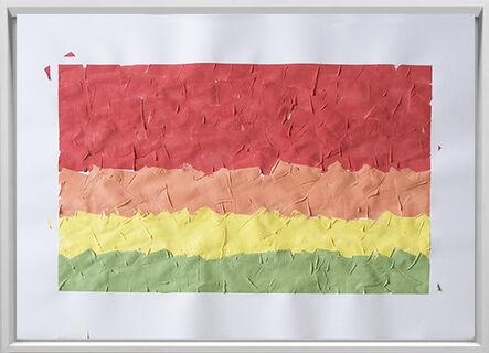 Rodrigo González Castellanos, 'Desgaste de la psicología del color, Cercanía', 2020