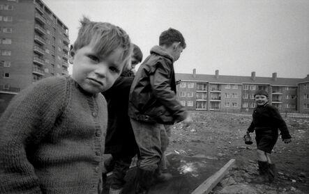 John 'Hoppy' Hopkins, 'Boy in Cardie, Harrow Road, London', 1963