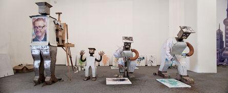 Cai Guo-Qiang 蔡国强, 'Wu Yulu's Robot Factory', 2010