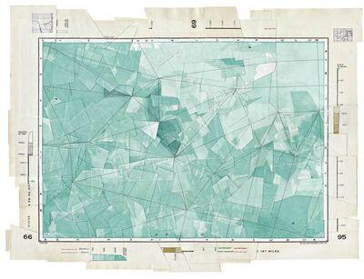 Gerhard Marx, 'Depths in Feet (Triangulation)', 2015