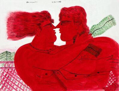 Alekos Fassianos, 'Lovers'
