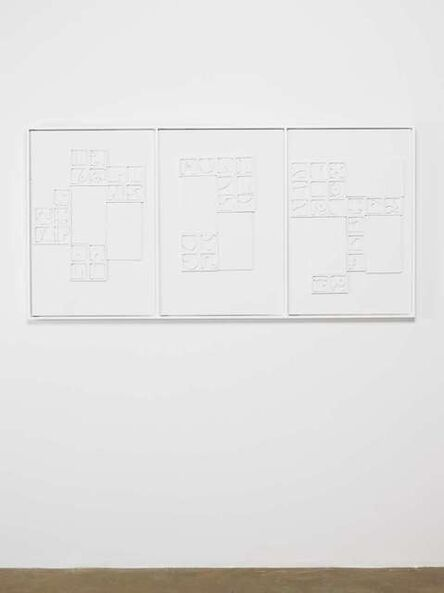 Louise Nevelson, 'Southern Shores VII, XII and XV', 1966