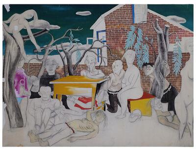 Wang Jinsong, 'Boring Meeting', 1988