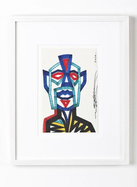 Rostarr, 'Metal Face', 2020