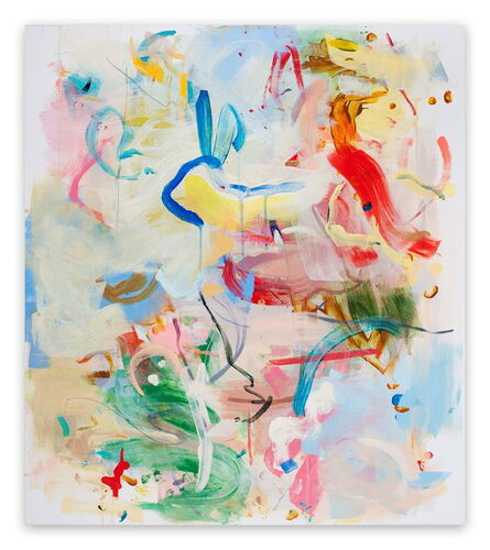 Gina Werfel, 'Hieroglyph  (Abstract Expressionism painting)', 2010