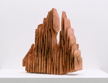 David Nash, 'Red Slices', 2020