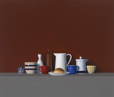 David Harrison, 'Large Still Life with Roll (#178)', 2010