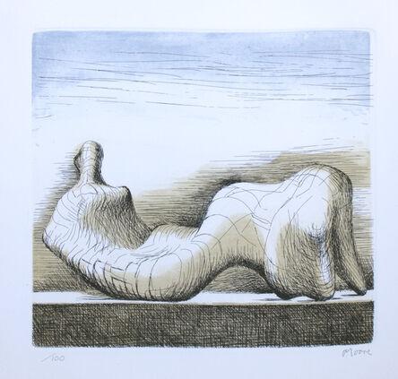 Henry Moore, 'Reclining Figure', 1976