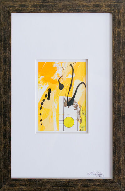 Whitney Pintello, 'She Likes Yellow No. 4- Small Abstract Contemporary Collage ', 2020