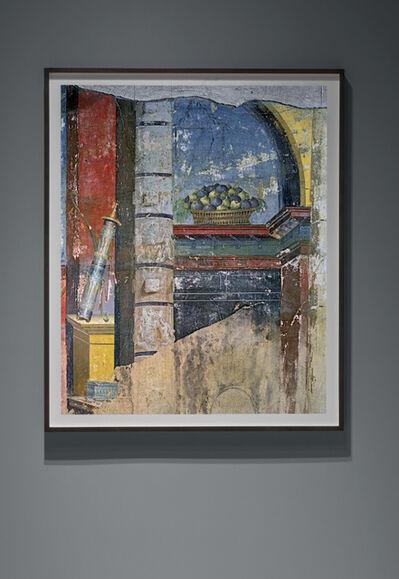 Robert Polidori, ''A Basket of Figs' wall detail, from Triclinium wall, Oplontis Villa of Poppea - Torre Annunziata, Italia', 2017