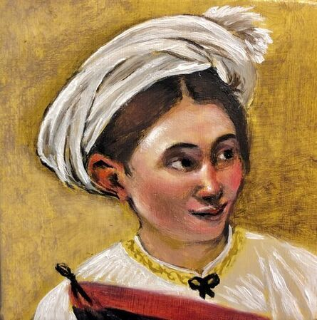 Carina Jimenez, 'Model Unknown - Caravaggio Detail', 2020