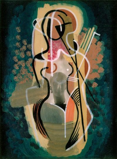 "Konrad Cramer, 'Nude with ""N""', 1949"