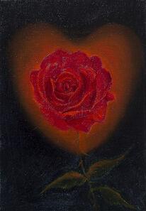 Srijon Chowdhury, 'Rose with a Heart Glow', 2020