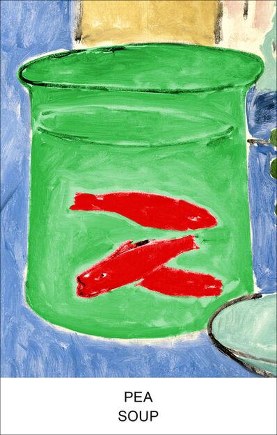 John Baldessari, 'Eight Soups: Pea Soup', 2012
