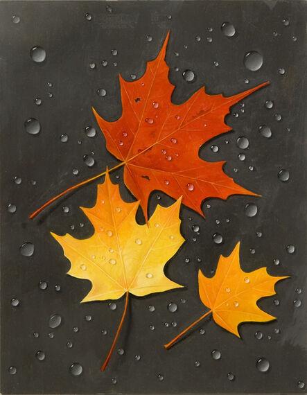 James Aponovich, 'Three Leaves'