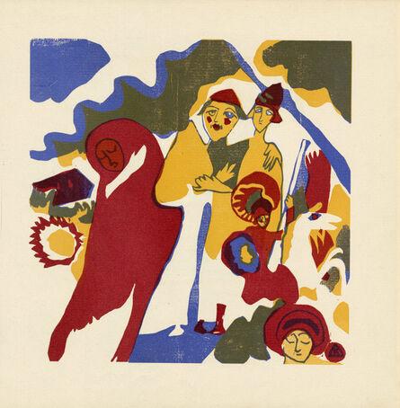 Wassily Kandinsky, 'Allerheiligen', 1911